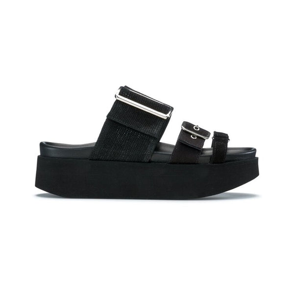 Leather Straps Platform - Thernlunds