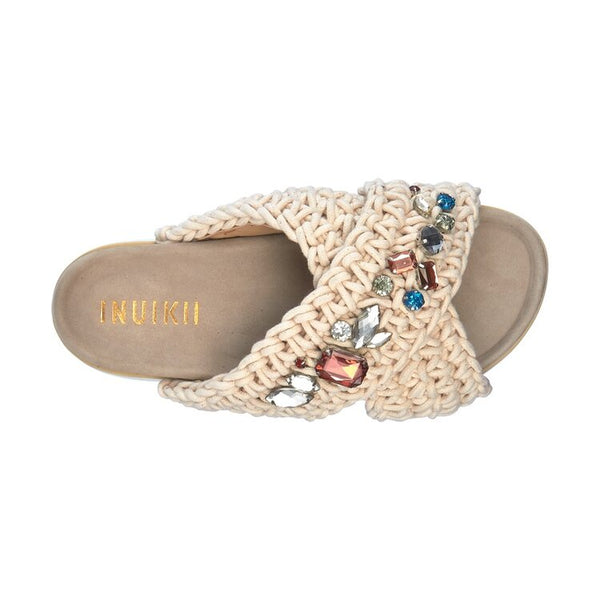 Woven Stones Platform Slipper - Thernlunds