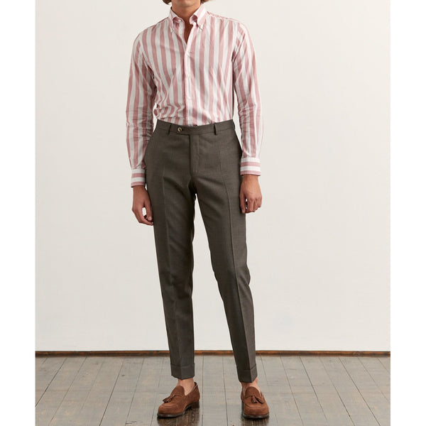 Heritage BD Cotton Stripe Shirt - Thernlunds