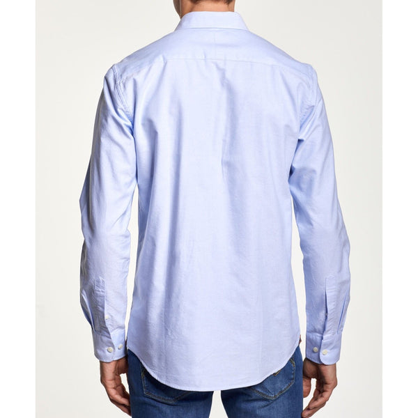 Morris - Skjorta - Oxford Button Down Shirt (55 Light blue) - Thernlunds