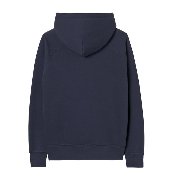 Gant - Tröja - 906652 Gant Shield Hoodie (433 Evening Blue) - Thernlunds