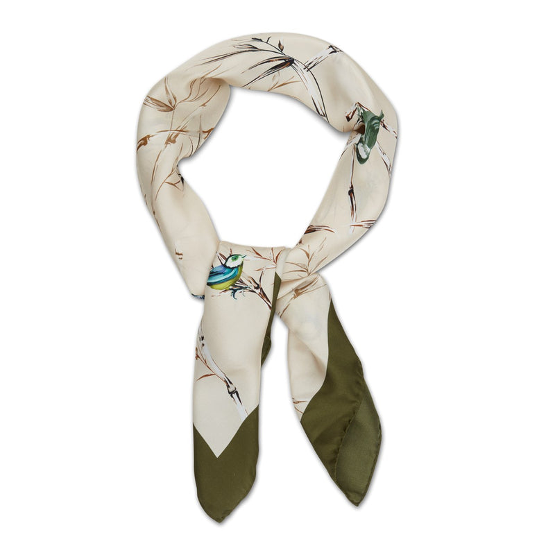 Stenströms - Huvudbonad - Colourful Birds Scarf - Thernlunds