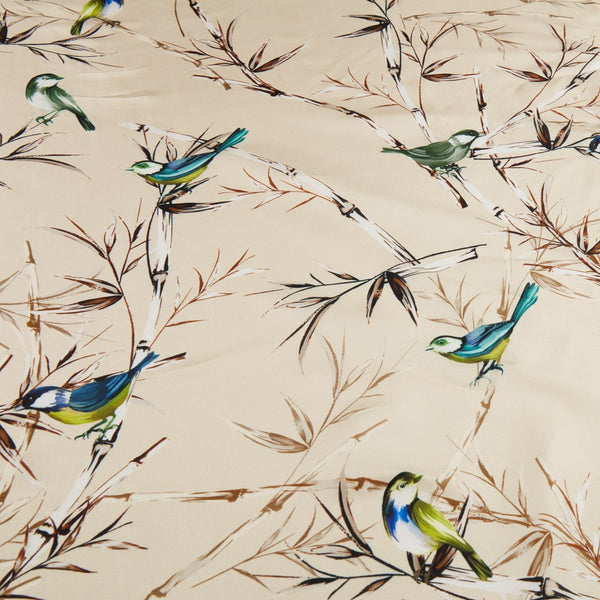 Stenströms - Huvudbonad - Colourful Birds Scarf (51 Offwhite Pattern) - Thernlunds