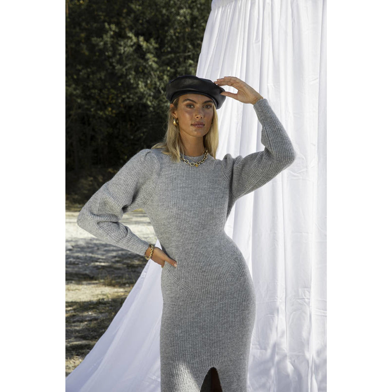 Adoore - Klänning - Verbier Slit Dress - Thernlunds