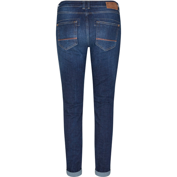 Mos Mosh - Jeans - Naomi Jewel Jeans (401 Blue) - Thernlunds