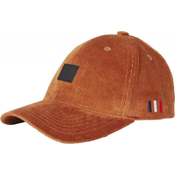 Les Deux - Keps - Piece Corduroy Baseball Cap (Rusty Brown/Black) - Thernlunds