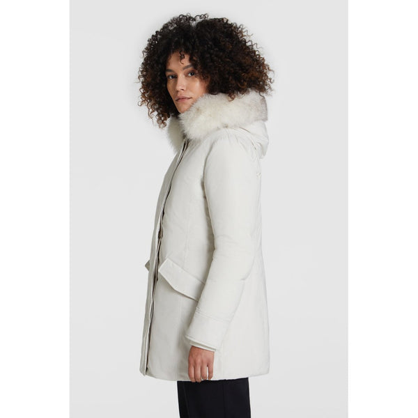 W' Luxury Arctic Parka (8269 White)