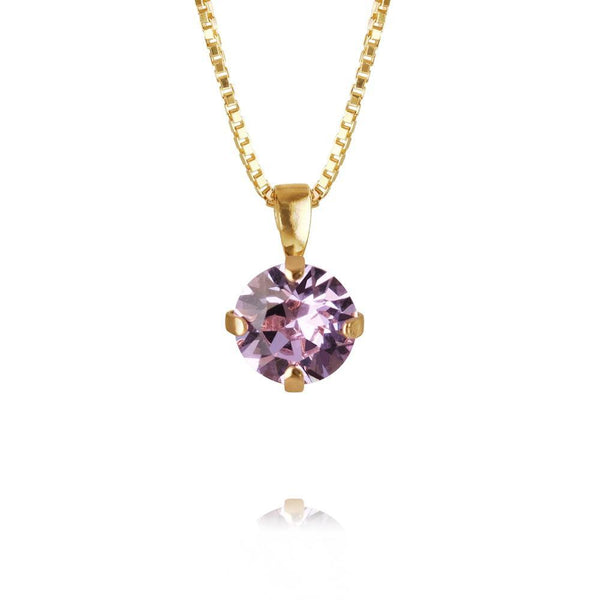 Classic Petite Necklace Gold (VIOLET)