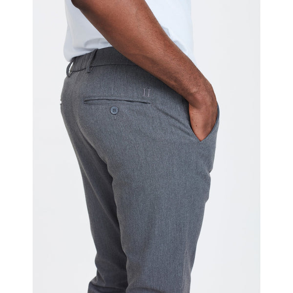 Les Deux - Byxa - Como Suit Pants (Grey Melange) - Thernlunds