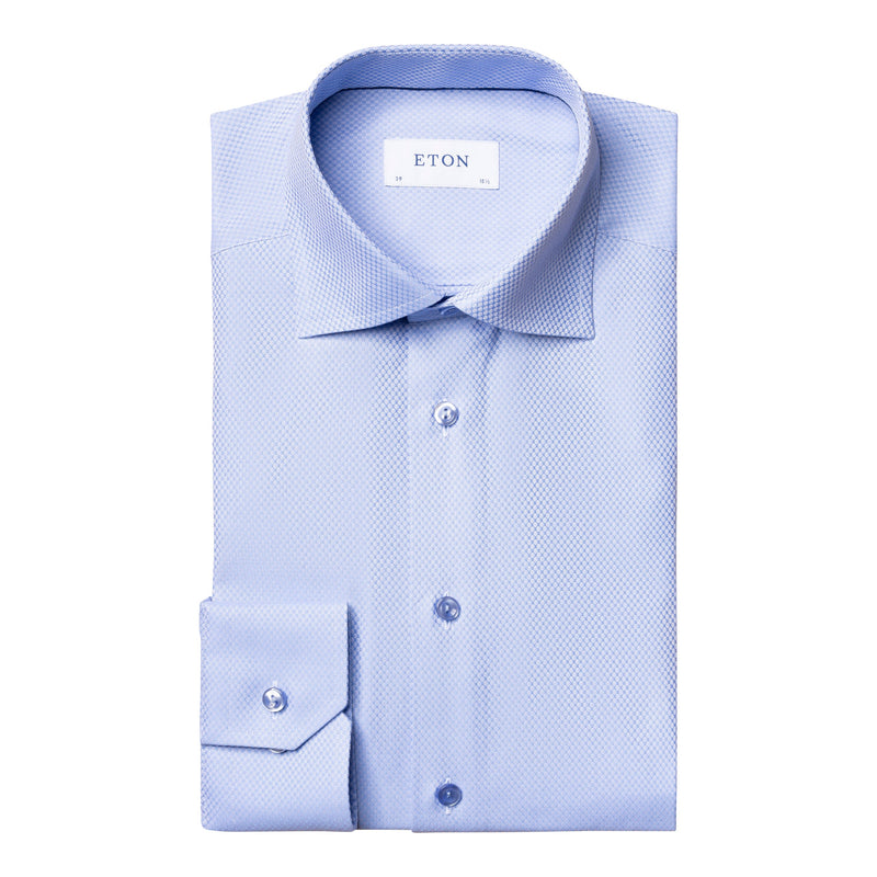 Eton - Skjorta - Dobby Shirt Contemporary Fit - Thernlunds