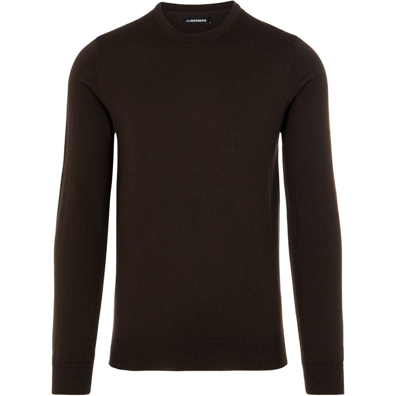 J.Lindeberg - Tröja - Lyle Merino Crew Neck Sweater - Thernlunds