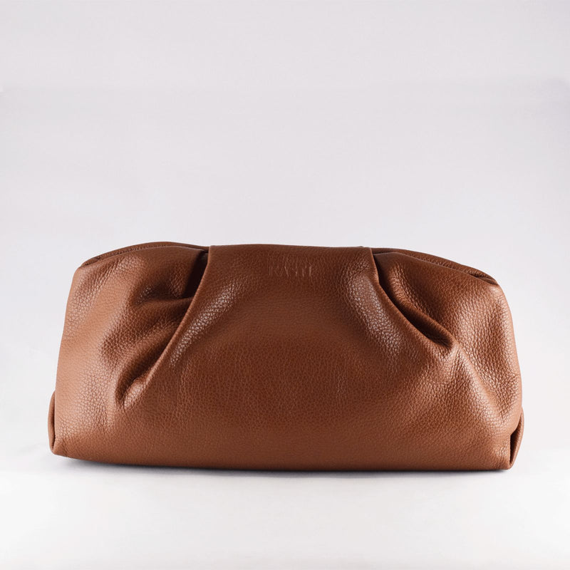 Kasti Studios - Väska - Fig Crossbody clutch L (Brown) - Thernlunds