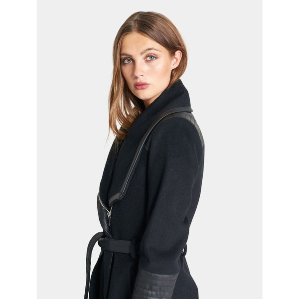 RockandBlue - Rock - Funnel Coat (89900 Black) - Thernlunds