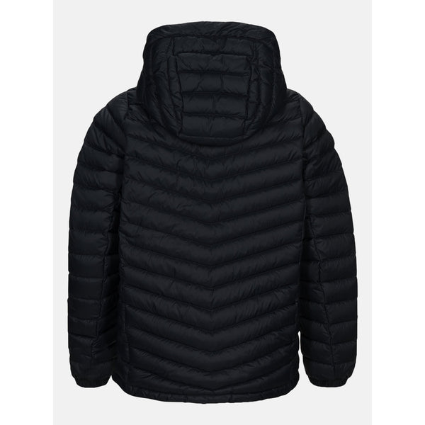 Peak Performance - Jacka - Jr Frost Down Hood Jacket (050 Black) - Thernlunds