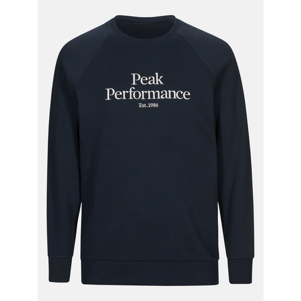 Peak Performance - Tröja - M Original Sweater (2N3 Blue Shadow) - Thernlunds