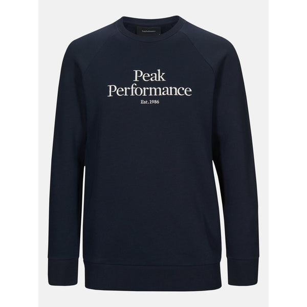 Peak Performance - Tröja - M Original Crew (2N3 Blue Shadow) - Thernlunds