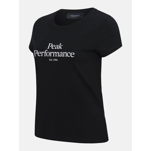 Peak Performance - T-shirt - W Original Tee (050 Black) - Thernlunds
