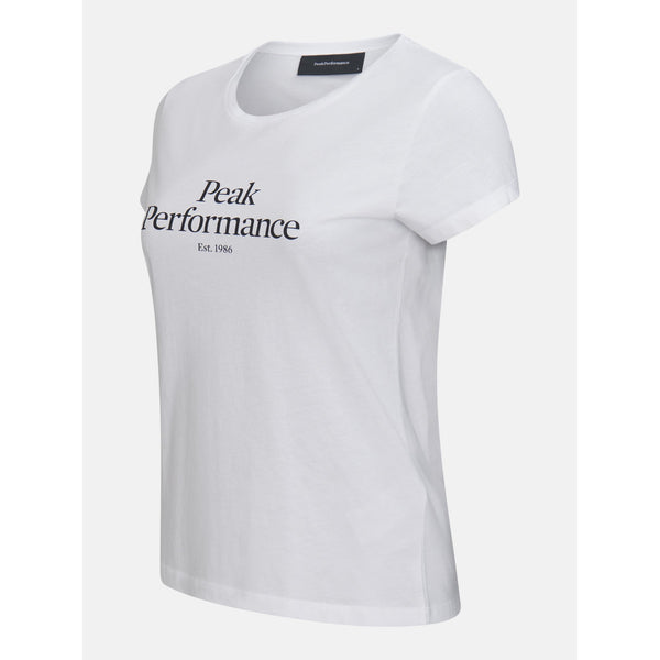 Peak Performance - T-shirt - W Original Tee (089 White) - Thernlunds