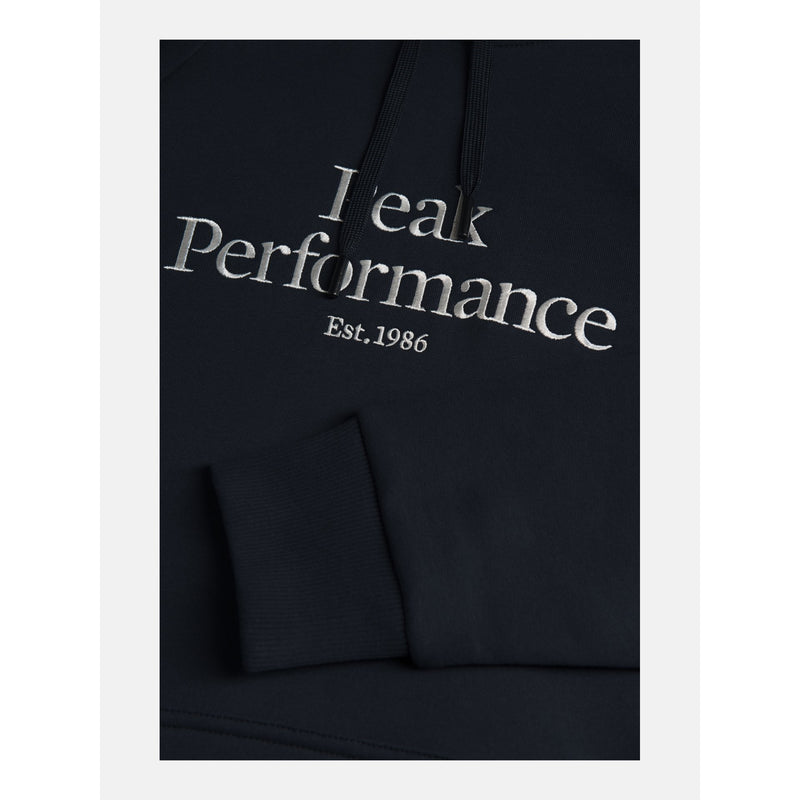 Peak Performance - Tröja - M Original Hood Sweater (2N3 Blue Shadow) - Thernlunds