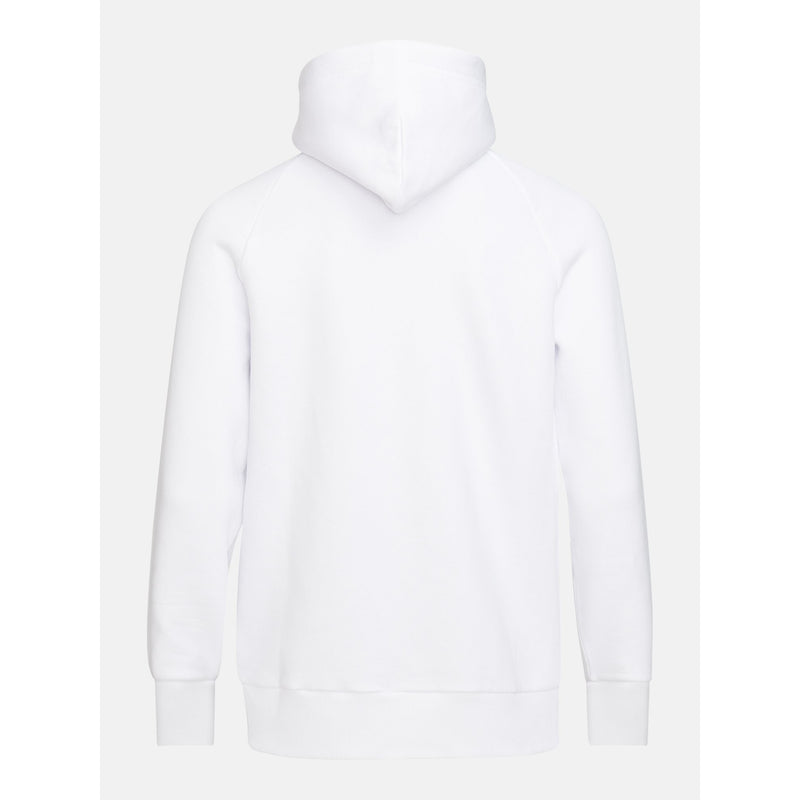 Peak Performance - Tröja - M Original Zip Hood (089 White) - Thernlunds