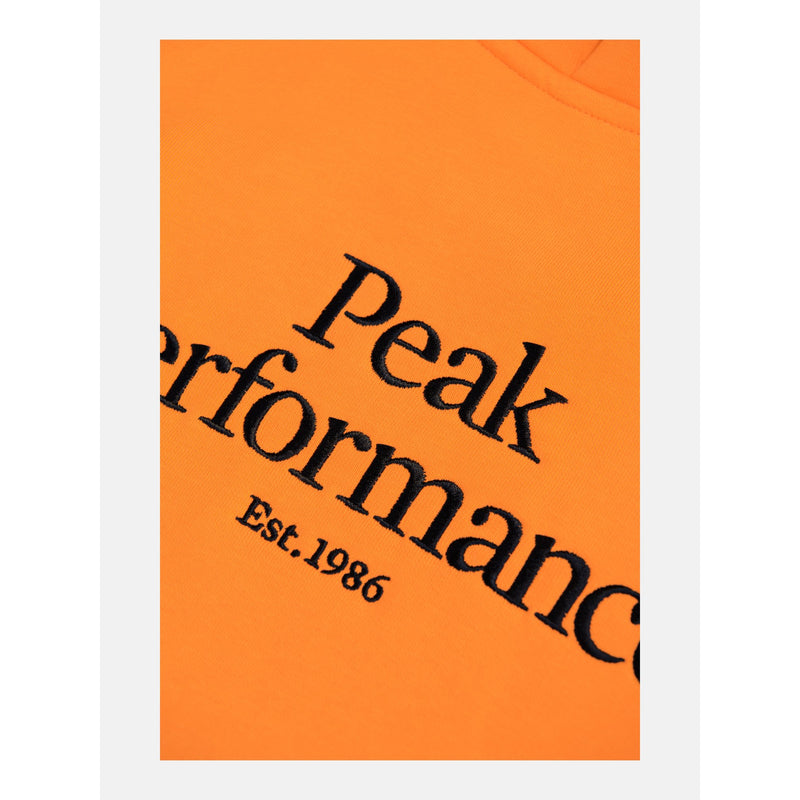 Peak Performance - Tröja - M Original Hood (86X Orange Altitude) - Thernlunds