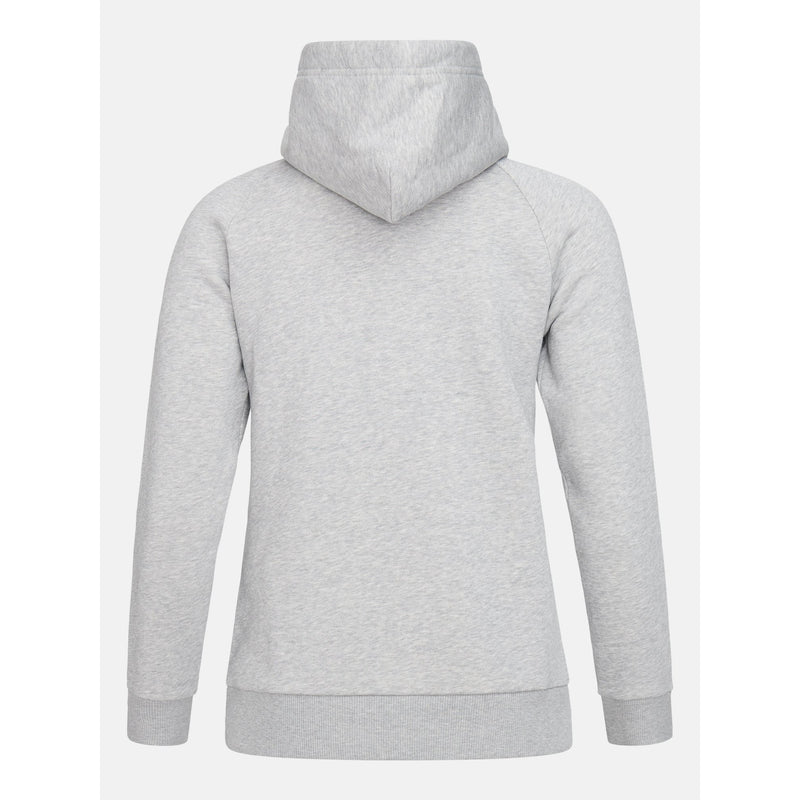 Peak Performance - Tröja - W Original Hood (M03 Med Grey Mel) - Thernlunds