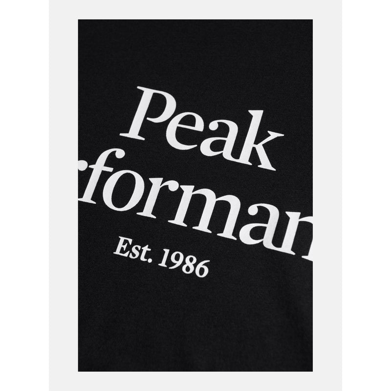 Peak Performance - T-shirt - M Original Tee (050 Black) - Thernlunds