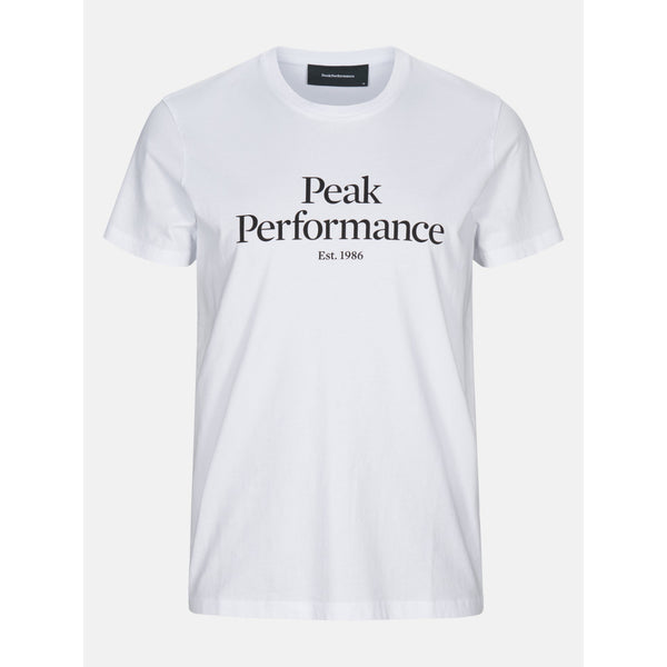Peak Performance - T-shirt - M Original Tee (089 White) - Thernlunds