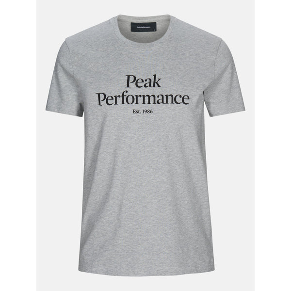Peak Performance - T-shirt - M Original Tee (M03 Med Grey Mel) - Thernlunds