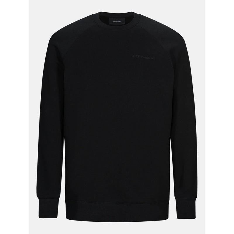 Peak Performance - Tröja - Urban Crew Neck (050 Black) - Thernlunds