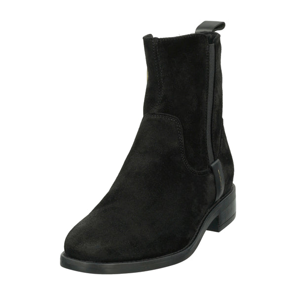 Gant - Skor - Fayy Mid Zip boot (G00 Black) - Thernlunds