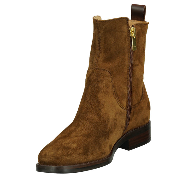 Gant - Skor - Fayy Mid Zip boot (G42 Tobacco Brown) - Thernlunds