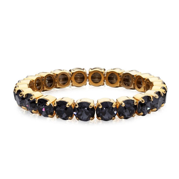GIA STUD BRACELET GOLD - Thernlunds