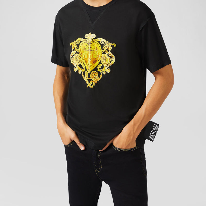 Versace - T-shirt - T-Shirt Regular Print (K42 Black) - Thernlunds