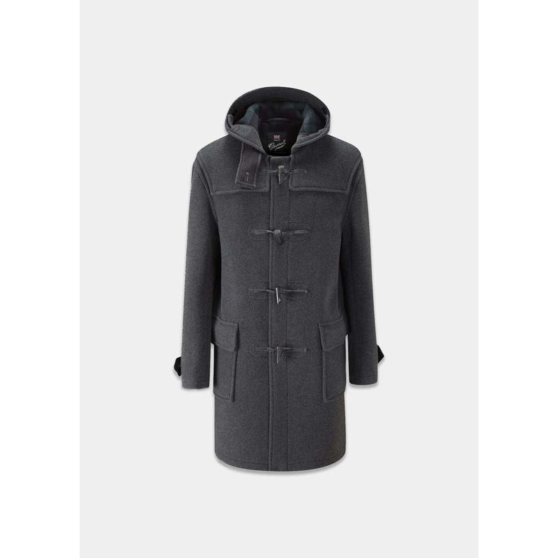 Gloverall - Rock - Morris Duffle Coat (GREY) - Thernlunds