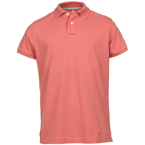 Hansen & Jacob - Pikétröja - Rough Style Polo (32 Red) - Thernlunds