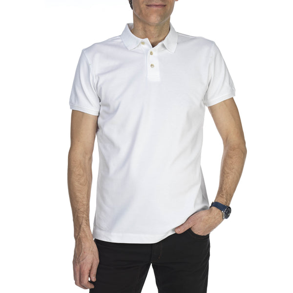 Pique Stretch Polo - Thernlunds