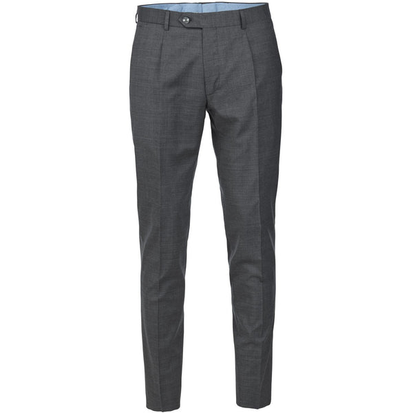 Hansen & Jacob - Byxa - Flexo Pepita Pant (05 Grey) - Thernlunds