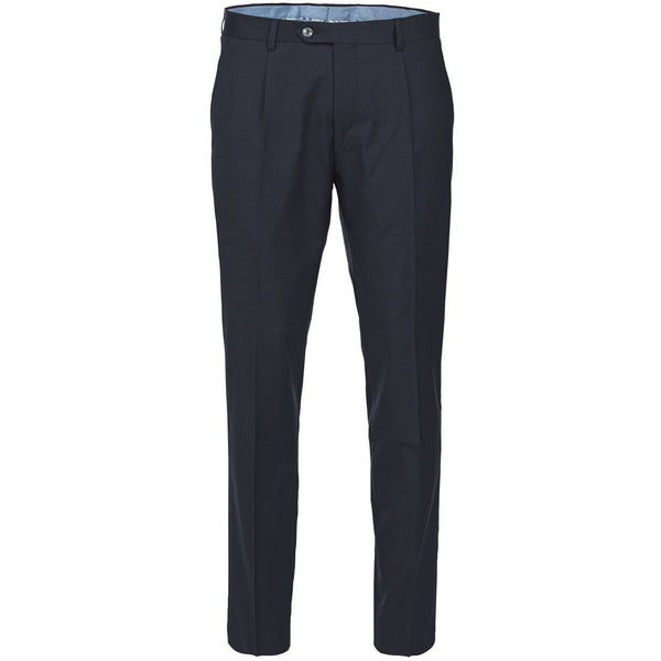 Hansen & Jacob - Byxa - Flexo Pepita Pant (49 Navy) - Thernlunds