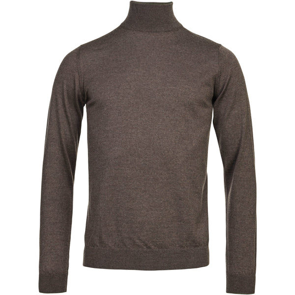 Light Merino Highneck Knit (07 Mole)