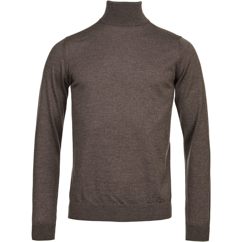 Hansen & Jacob - Tröja - Light Merino Highneck Knit - Thernlunds