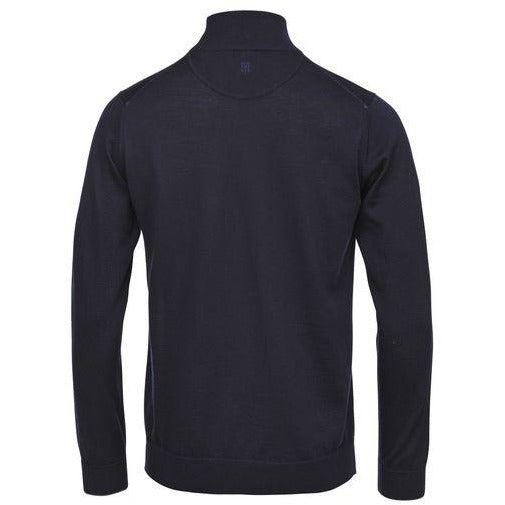 Light Merino Highneck Knit (49 Navy)