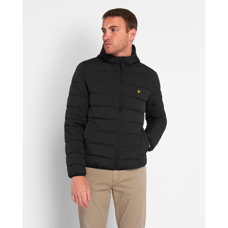 Lyle & Scott - Jacka - Lightweight Puffer Jacket (Z865 Jet Black) - Thernlunds