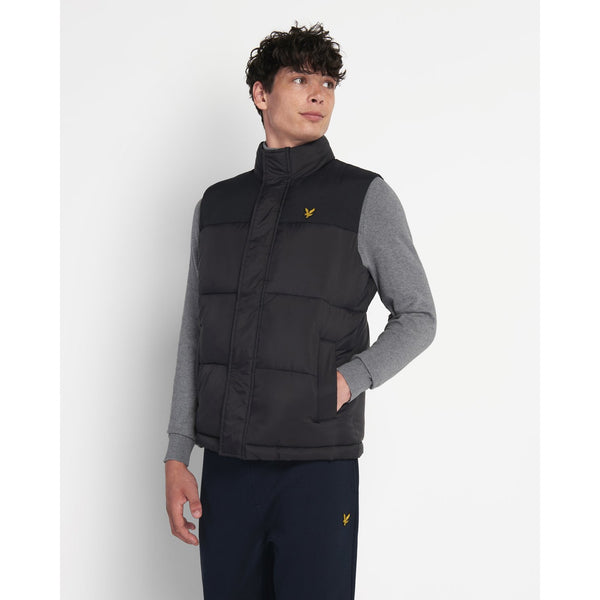 Lyle & Scott - Väst - Wadded Gilet - Thernlunds