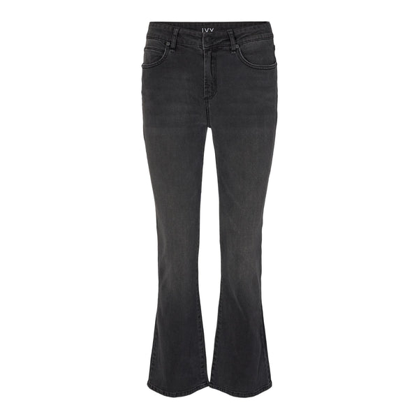 Ivy Copenhagen - Jeans - Johanna Kick Flare Exclusive Japan Black - Thernlunds