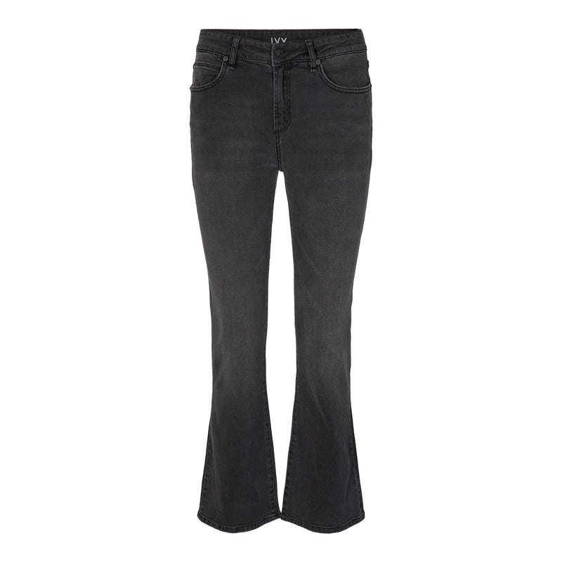 Ivy Copenhagen - Jeans - Johanna Kick Flare Exclusive Japan Black (9 Black) - Thernlunds