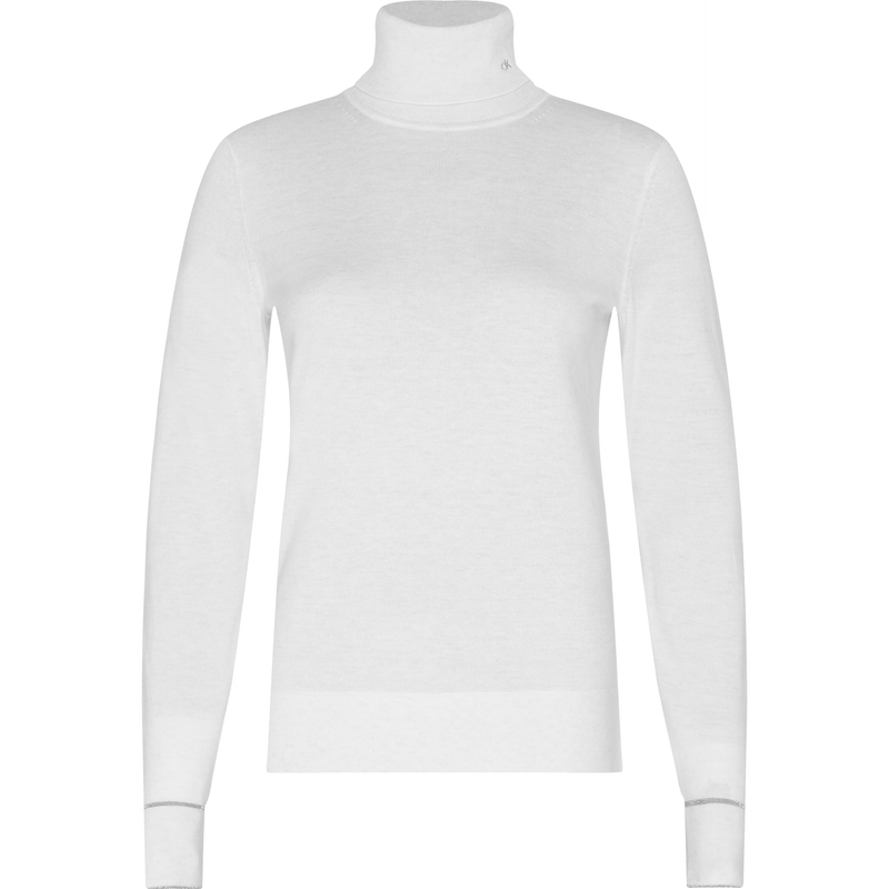 Calvin Klein - Tröja - Ls Roll Neck Sweater - Thernlunds