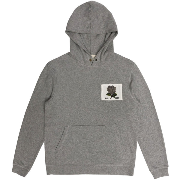 Kent & Curwen - Tröja - E.K. 1926 Hoodie (95 Grey) - Thernlunds