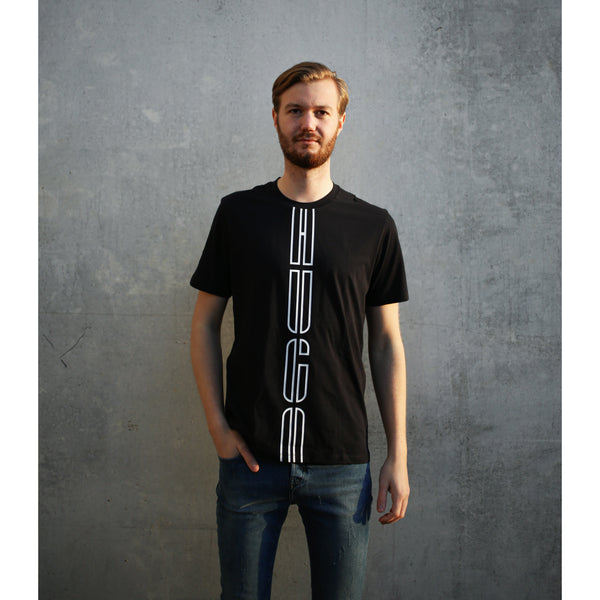HUGO - T-shirt - Darlon203 10220926 01 (001 Black) - Thernlunds