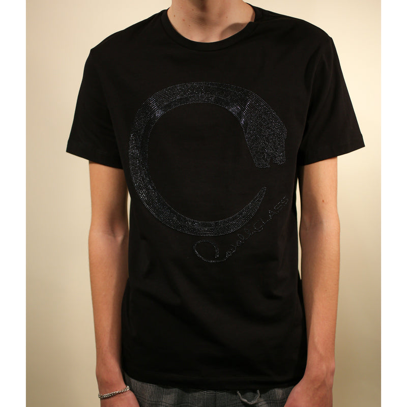 Cavalli Class -  - Man T-Shirt (899 Black) - Thernlunds